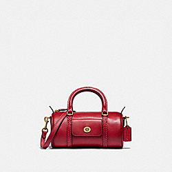 MINI BARREL BAG - B4/RED APPLE - COACH 832