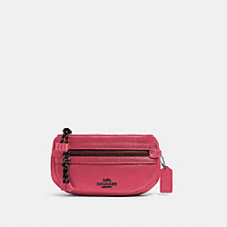 COACH 84230 - VALE BELT BAG QB/DARK PINK