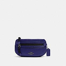 COACH 84230 - VALE BELT BAG SV/GRAPE