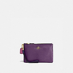 COACH 86403 - SMALL WRISTLET IN COLORBLOCK BRASS/MULTI
