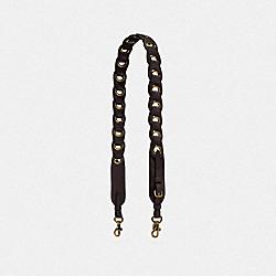 COACH 87292 Novelty Strap CHESTNUT/LIGHT GOLD
