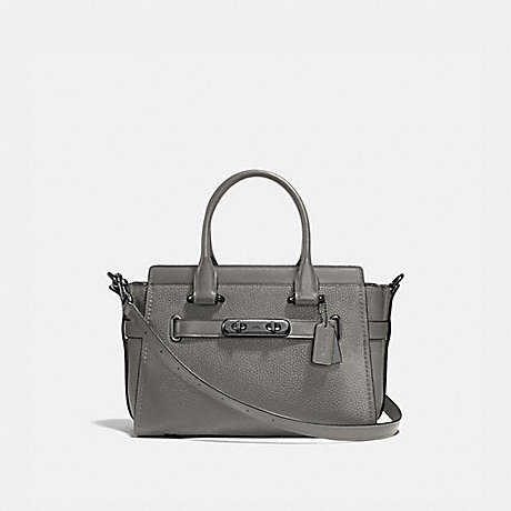 COACH 87295 COACH SWAGGER 27 HEATHER-GREY/DARK-GUNMETAL