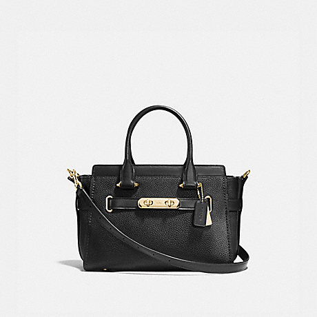 COACH 87295 COACH SWAGGER 27 LIGHT-GOLD/BLACK