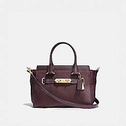 COACH 87295 Coach Swagger 27 OXBLOOD/LIGHT GOLD