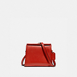 MINI TURNLOCK SHOULDER BAG - 874 - B4/MANGO