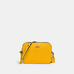COACH 87734 Mini Camera Bag QB/OCHRE