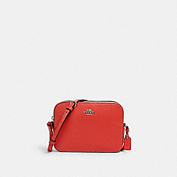 COACH 87734 Mini Camera Bag SV/TANGERINE