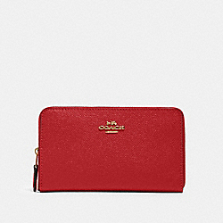 MEDIUM ID ZIP WALLET - 87735 - IM/1941 RED