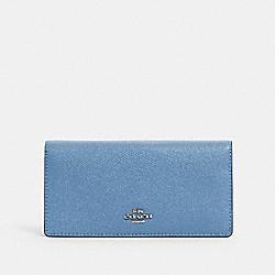 COACH 88025 Bifold Wallet SV/SLATE