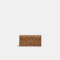 COACH 88026 Bifold Wallet In Signature Canvas IM/CHALK/GLACIERWHITE