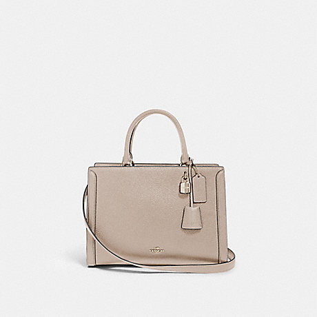 COACH 88037 ZOE CARRYALL SV/GREY-BIRCH