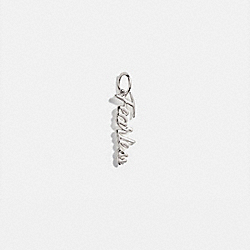 COACH 88189 - COLLECTIBLE FEARLESS CHARM SILVER