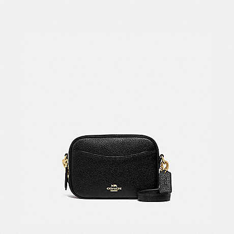 COACH CAMERA BAG 16 - GD/BLACK - 88210