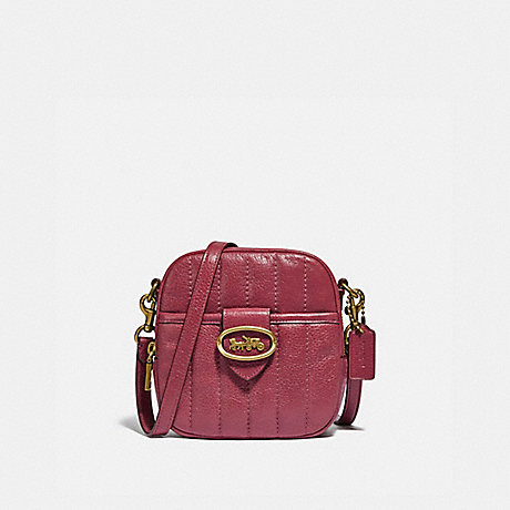 COACH 88230 KAT CAMERA BAG WITH QUILTING B4/DUSTY-PINK