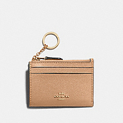 COACH 88250 Mini Skinny Id Case IM/TAUPE
