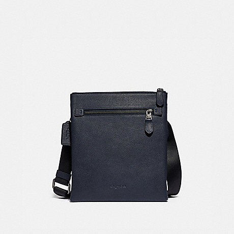 COACH 88255 METROPOLITAN SOFT SMALL MESSENGER QB/MIDNIGHT NAVY