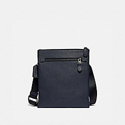 METROPOLITAN SOFT SMALL MESSENGER - QB/MIDNIGHT NAVY - COACH 88255