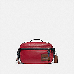 COACH 88308 - PACER TOP HANDLE CROSSBODY WITH COACH PATCH JI/CARDINAL