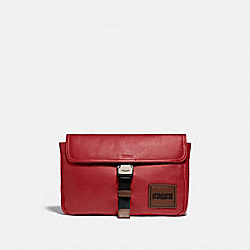 PACER BELT BAG CROSSBODY WITH COACH PATCH - 88312 - JI/CARDINAL