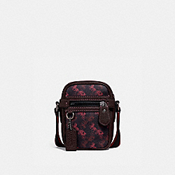 DYLAN 10 WITH HORSE AND CARRIAGE PRINT - BLACK COPPER/BLACK RED - COACH 88325