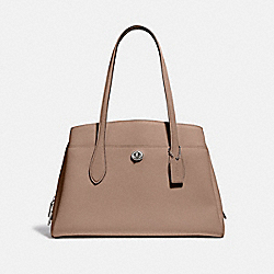 COACH 88340 Lora Carryall LH/TAUPE