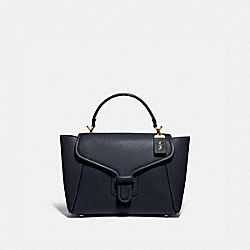 COURIER CARRYALL - BRASS/MIDNIGHT NAVY - COACH 88348