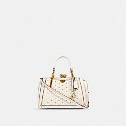 COACH 88543 - KISSLOCK DREAMER 21 WITH QUILTING AND RIVETS B4/CHALK