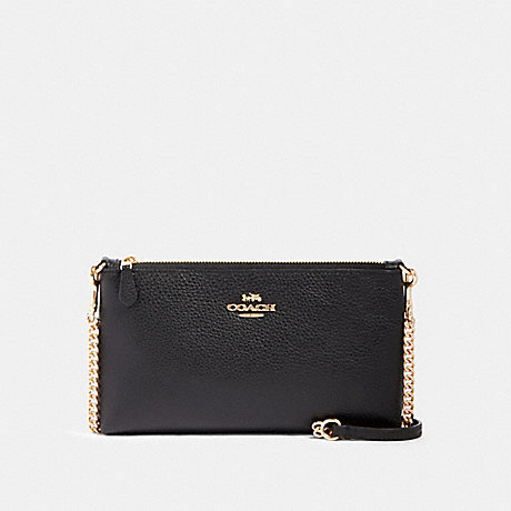COACH 88682 ZIP TOP CROSSBODY IM/BLACK