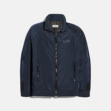 COACH 88716 HORSE AND CARRIAGE PACKABLE WINDBREAKER BLUE