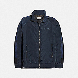 HORSE AND CARRIAGE PACKABLE WINDBREAKER - 88716 - BLUE