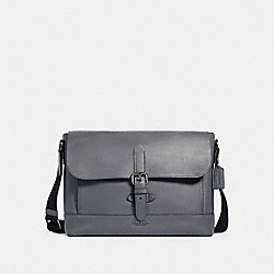 COACH 88892 - HUDSON MESSENGER QB/INDUSTRIAL GREY