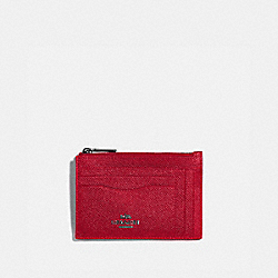 COACH 88930 Large Card Case V5/RED APPLE