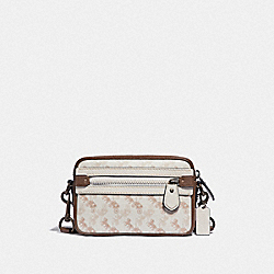 COACH 89084 Academy Crossbody With Horse And Carriage Print JI/CHALK