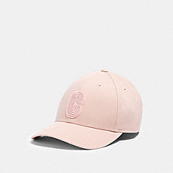 COACH 89104 Retro Signature Patch Hat CARNATION