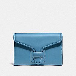 COACH 89320 Courier Wallet B4/PACIFIC BLUE