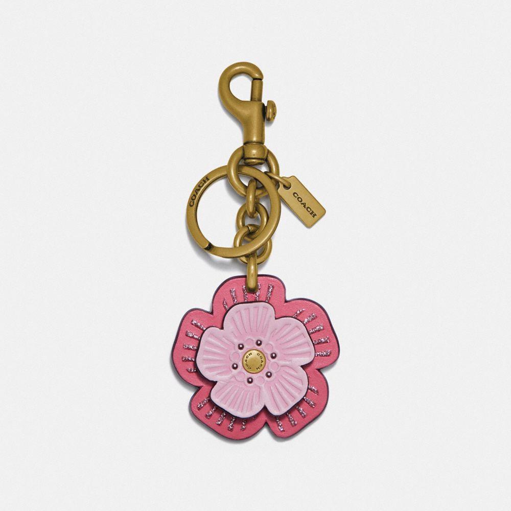 茶香玫瑰手袋掛飾