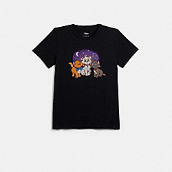 DISNEY X COACH ARISTOCATS T-SHIRT - 89629 - BLACK