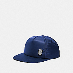 COACH 89722 Solid Nylon Trucker Hat NAVY