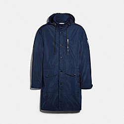 COACH 89731 - LIGHTWEIGHT MAC JACKET SPRING NAVY