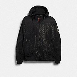 COACH 89736 - WINDBREAKER BLACK SIGNATURE