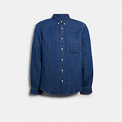 DENIM SHIRT - 89737 - BLUE