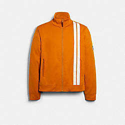 COACH 89746 Track Jacket DEEP CLEMENTINE
