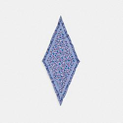 ESSENTIAL TEA ROSE SILK DIAMOND SCARF - 89796 - TWILIGHT