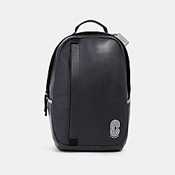 COACH 89923 Edge Backpack With Reflective Detail QB/MIDNIGHT NAVY MULTI