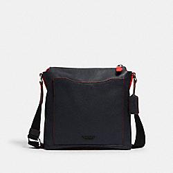 COACH 89951 - BECKETT POCKET CROSSBODY NI/MIDNIGHT NAVY/MIAMI RED