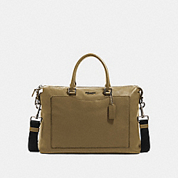COACH 89954 - BECKETT POCKET BRIEF NI/UTILITY GREEN