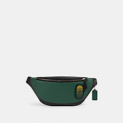 WARREN BELT BAG IN COLORBLOCK WITH COACH PATCH - 89956 - QB/VINE MULTI