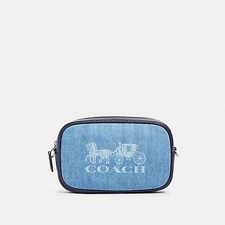 COACH 90393 JES CONVERTIBLE BELT BAG SV/DENIM