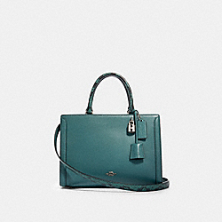 COACH 91036 Zoe Carryall SV/DARK TURQUOISE