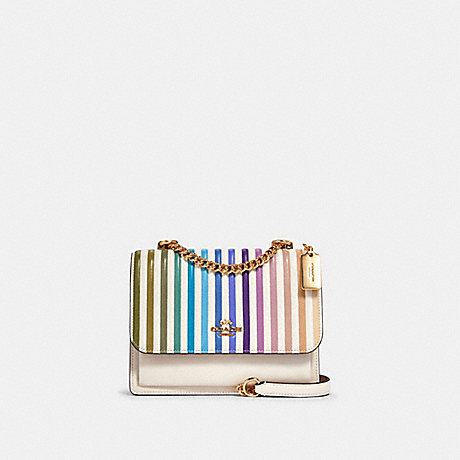 COACH 91053 KLARE CROSSBODY WITH OMBRE QUILTING IM/CHALK-MULTI